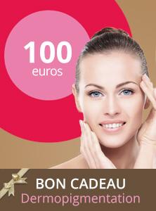 Bon cadeau dermopigmentation 100€ - Centre Aderm - Annecy