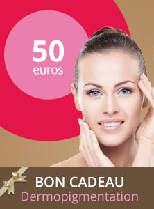 Bon cadeau dermopigmentation 50€ - Centre Aderm - Annecy